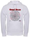 Gibbs' Rules Hooded Sweatshirt at the NCISfanatic Store