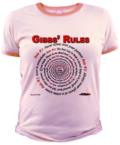 Gibbs' Rules Jr Ringer Tee at the NCISfanatic Store