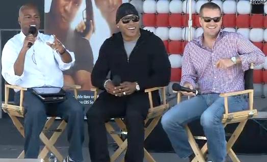 Fleet Week Live NCIS LA — LL Cool J and Chris O'Donnell-2