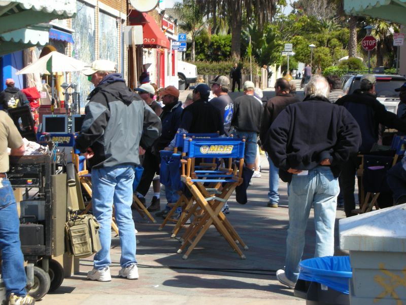 NCIS Filming (Archive Photo)