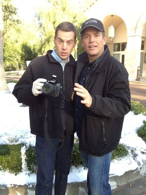 Hey it's Sean Murray! Here is the investigative duo hard at work!
