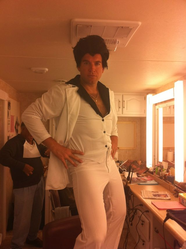 Michael Weatherly: Morning image of DiNozzo as Manero...