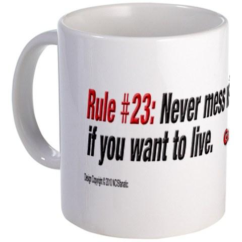 NCIS GIBBS' RULE #23 A Marine's Coffee - Mug
