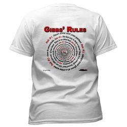 NCIS GIBBS' RULES - Women's T-Shirt (Front/Back)