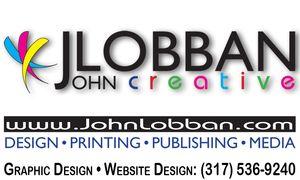 JOHN LOBBAN Creative — DESIGN • PRINTING • PUBLISHING • MEDIA — www.JohnLobban.com