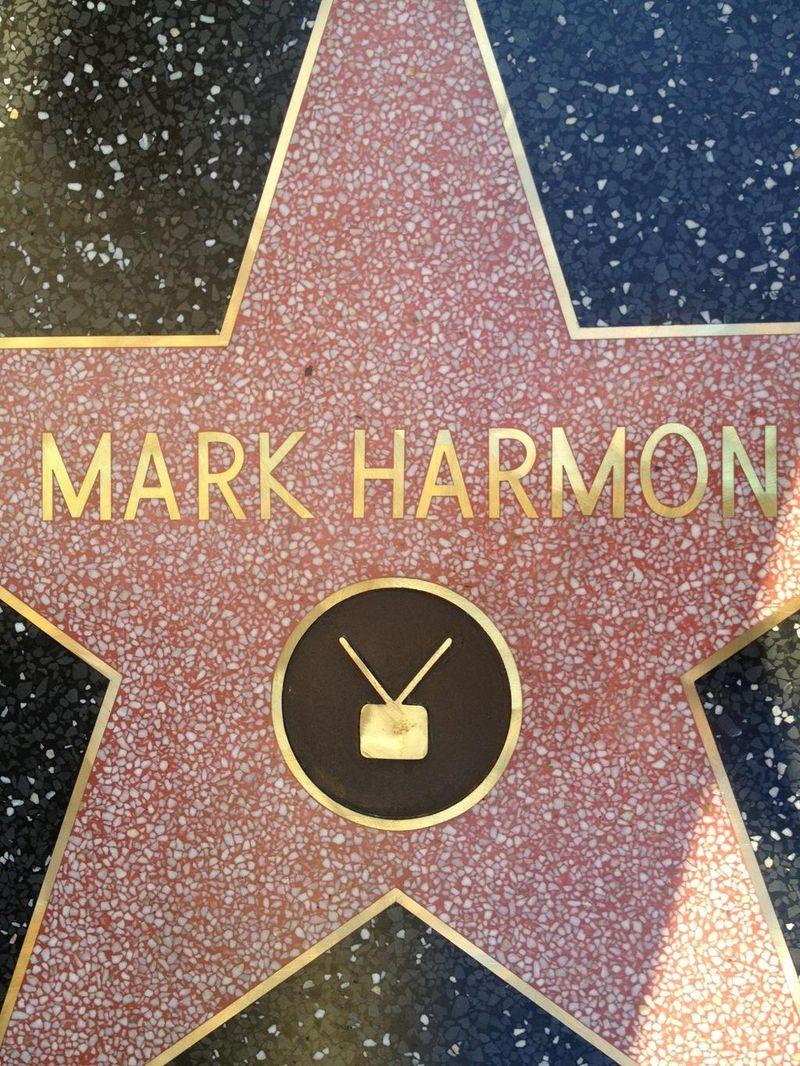 MARK HARMON - Hollywood Walk Of Fame - @M_Weatherly Photo