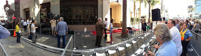 MARK HARMON - Hollywood Walk Of Fame - @ChrisWaild Photo