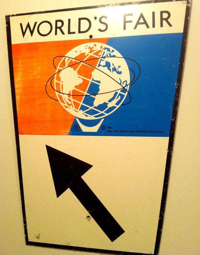 World's Fair SIGN