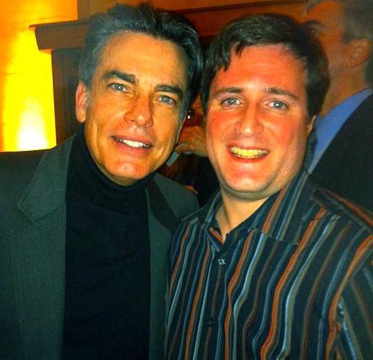 Ted with Peter Gallagher from Covert Affairs