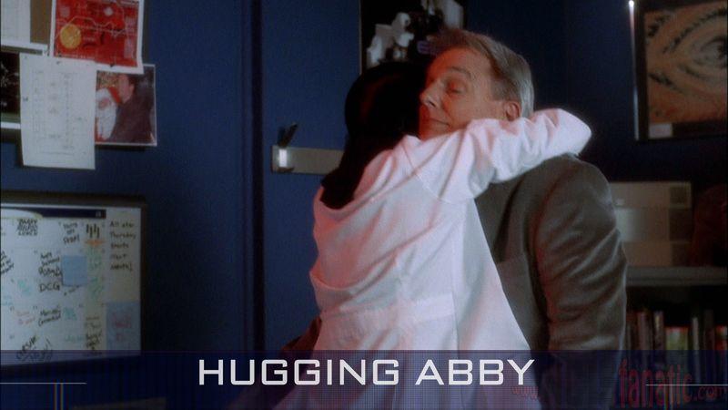 17 Hugging Abby