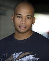 Adam Jamal Craig as Dominic Vail on NCIS: Los Angeles
