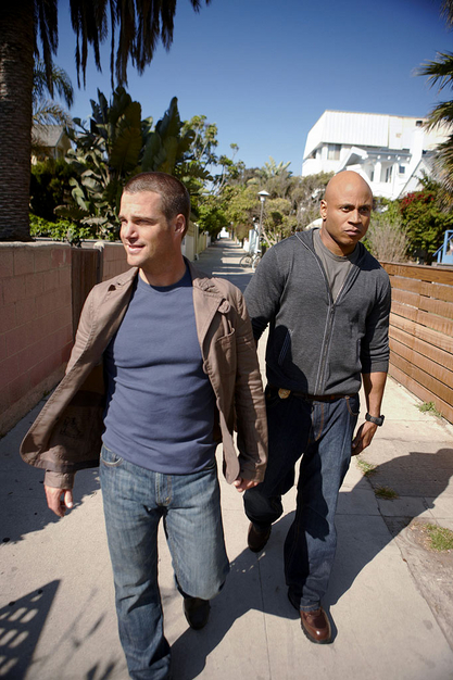 """Chris O'Donnell stars as agent """"G"""" Callen and LL Cool J stars as Special Agent Sam Hanna in """"NCIS: Los Angeles."""""""
