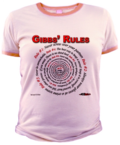 Gibbs' Rules Jr Ringer Tee at the NCISfanatic Store