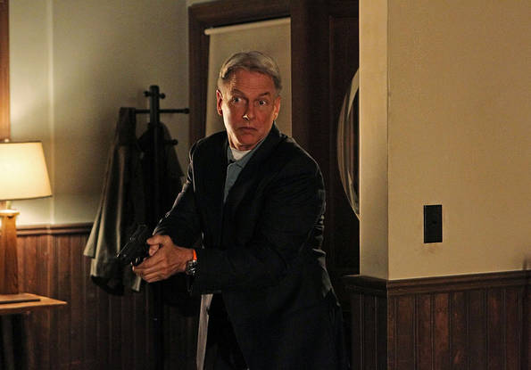 Gibbs (Mark Harmon) must take desperate measures to protect the ones he loves in the eighth season premiere of NCIS, Tuesday, Sept. 21 (8:00-9:00 PM, ET/PT). Photo: Sonja Flemming/CBS