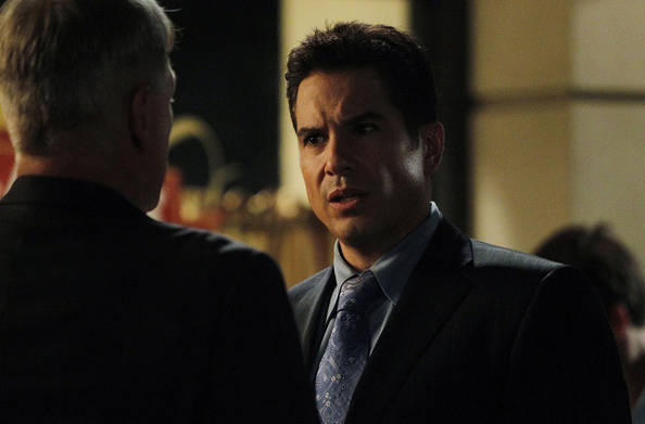 "As the Reynosa cartel's vendetta against Gibbs (Mark Harmon, left) reaches a boiling point, the team must contend with the return of Alejandro Rivera (Marco Sanchez, right), on the eighth season premiere of ""NCIS,"" Tuesday, September 21 (8:00-9:00 PM, ET/PT). Photo: Jordin Althaus/CBS"