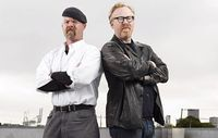 MYTHBUSTERS' Jamie Hyneman and Adam Savage