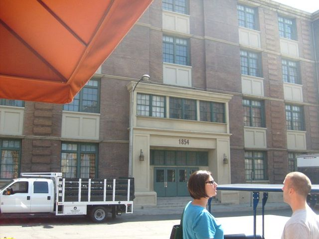 My Paramount tour last summer. This is used as the police station in Rizzoli and Isles.