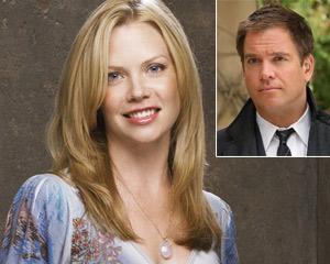 Erica Jane Barrett and Michael Weatherly