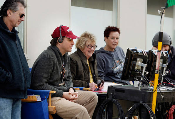 NCIS discovers that one of its former investigative assistants found brutally stabbed to death was selling details for how to rob a warehouse full of valuable possessions belonging to a woman convicted of fraud. Meanwhile, a new special agent joins the office, on NCIS. Episode directed by series star Michael Weatherly (pictured second from left). Photo: Cliff Lipson/CBS