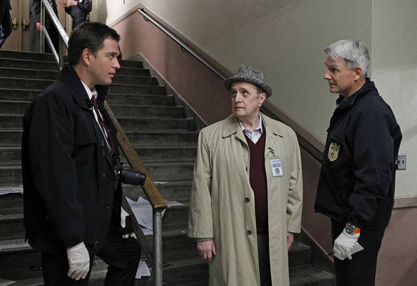 Pictured left to right: Michael Weatherly, Bob Newhart and Mark Harmon Photo: Sonja Flemming/CBS ©2010