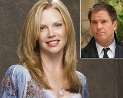 Sara Jane Morris and Michael Weatherly from NCIS