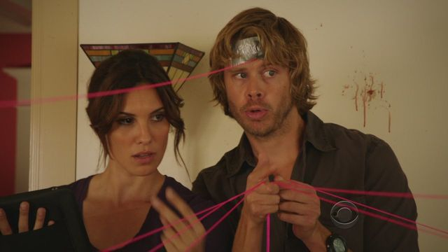 Kensi (Daniela Ruah) and Deeks (Eric Colsen) on NCIS: Los Angeles