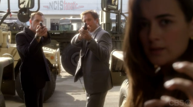 "NCIS: McGee, DiNozzo and Ziva from ""Dead Reflection"""