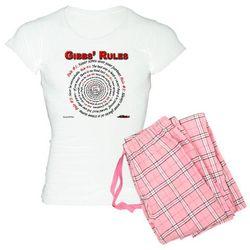 NCIS GIBBS' RULES - Women's Light Pajamas $39.99