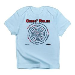 NCIS GIBBS' RULES - Infant T-Shirt