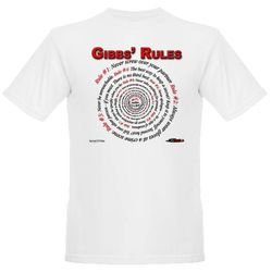 NCIS GIBBS' RULES - Organic Men's T-Shirt