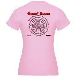 NCIS GIBBS' RULES - Jr. Jersey T-Shirt (F/B)