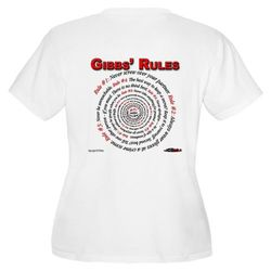 GIBBS' RULES - Women's Plus Size V-Neck (F/B)