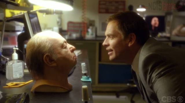 "NCIS: Tony DiNozzo and Hitchcock Mask from ""Dead Reflection"""