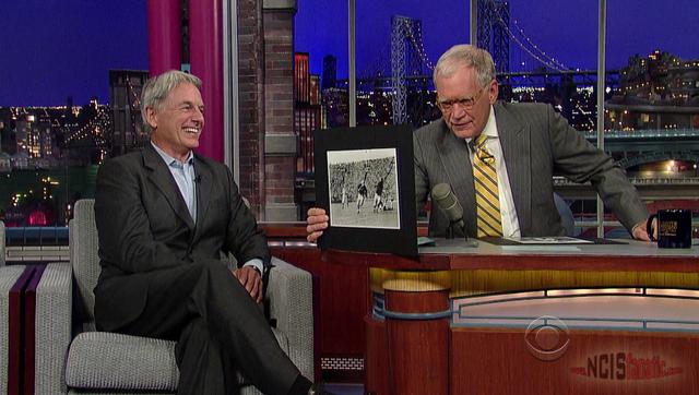 NCIS' Mark Harmon on 'Late Show' with David Letterman