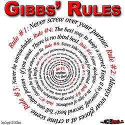 GIBBS' RULES — SPIRAL DESIGN — NCISfanatic