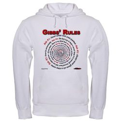 NCIS GIBBS' RULES - Hooded Sweatshirt