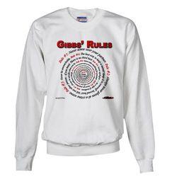 NCIS GIBBS' RULES - Sweatshirt