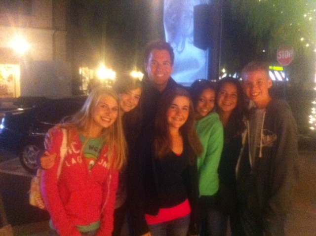 Michael Weatherly: @desiblue7 Caitlyn Sabrina Joey Megan Sam on the st of NCIS!