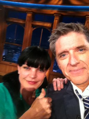 Photo from Pauley Perrette (Published on TwitPic)