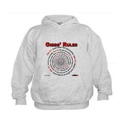 NCIS GIBBS' RULES - Kids Hoodie
