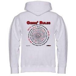 NCIS GIBBS' RULES - Hooded Sweatshirt (Front/Back)