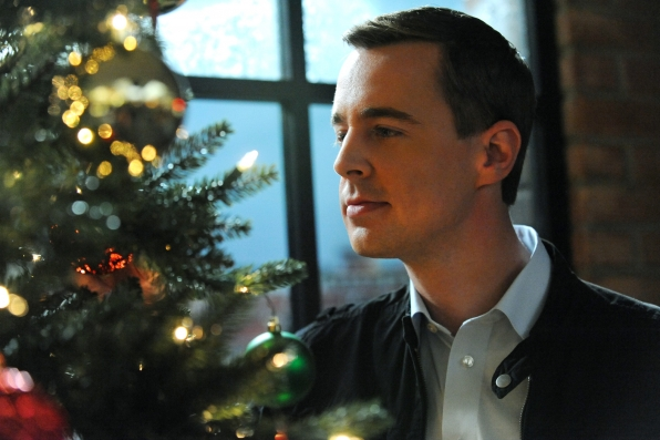 Special Agent Timothy McGee takes time out to enjoy the holiday season. Photo: Ron P. Jaffe/CBS © 2011 CBS Broadcasting, Inc. All Rights Reserved.