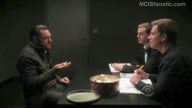 "NCIS 9x11 ""NEWBORN KING"" - Cookie Interrogation VIDEO"