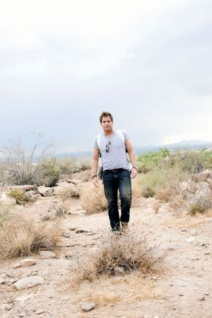 Michael Weatherly: Day 17: After 48 hour Desert Therapy. Solo.