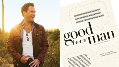 Interview: NCIS' Michael Weatherly in CBS Watch! Magazine