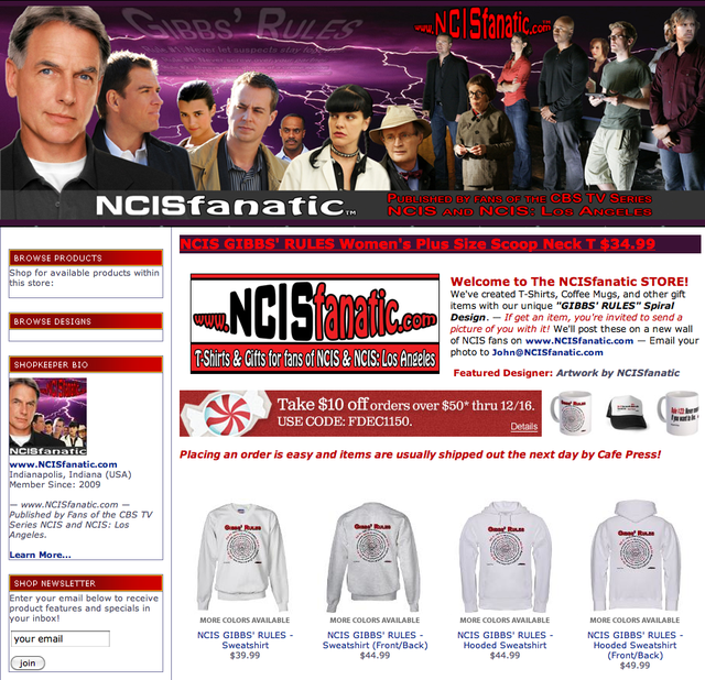 SHOP.NCISfanatic.com