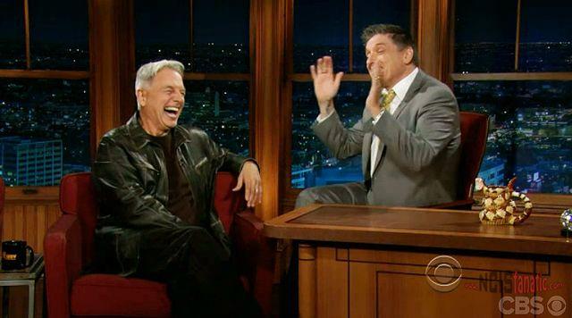 NCIS' Mark Harmon on Late Late Show with Craig Ferguson