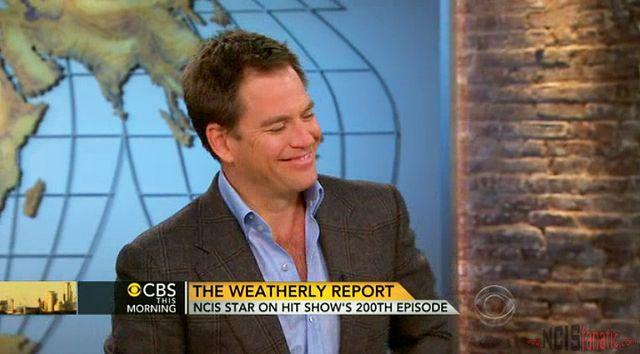 NCIS' Michael Weatherly on CBS This Morning — NCIS 200th
