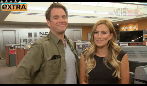 Extra On NCIS Set with Michael Weatherly aka Tony DiNozzo
