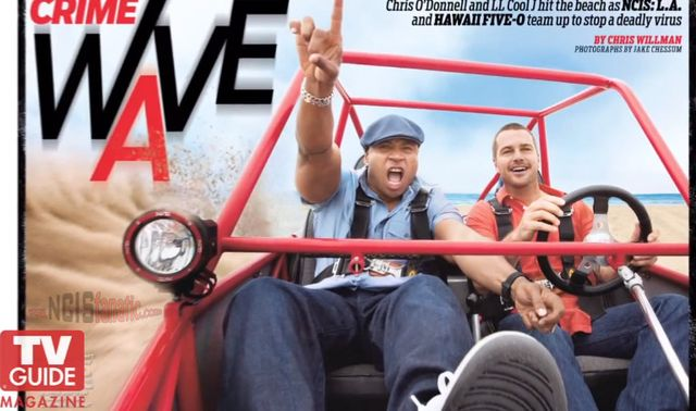 NCIS LA, Hawaii Five-0 Crossover! LL Cool J, Chris O'Donnell — NCIS: Los Angeles Hits the Beach For a Hawaii Five-0 Crossover! Join LL Cool J and Chris O'Donnell on their cover photo shoot with TV Guide Magazine!